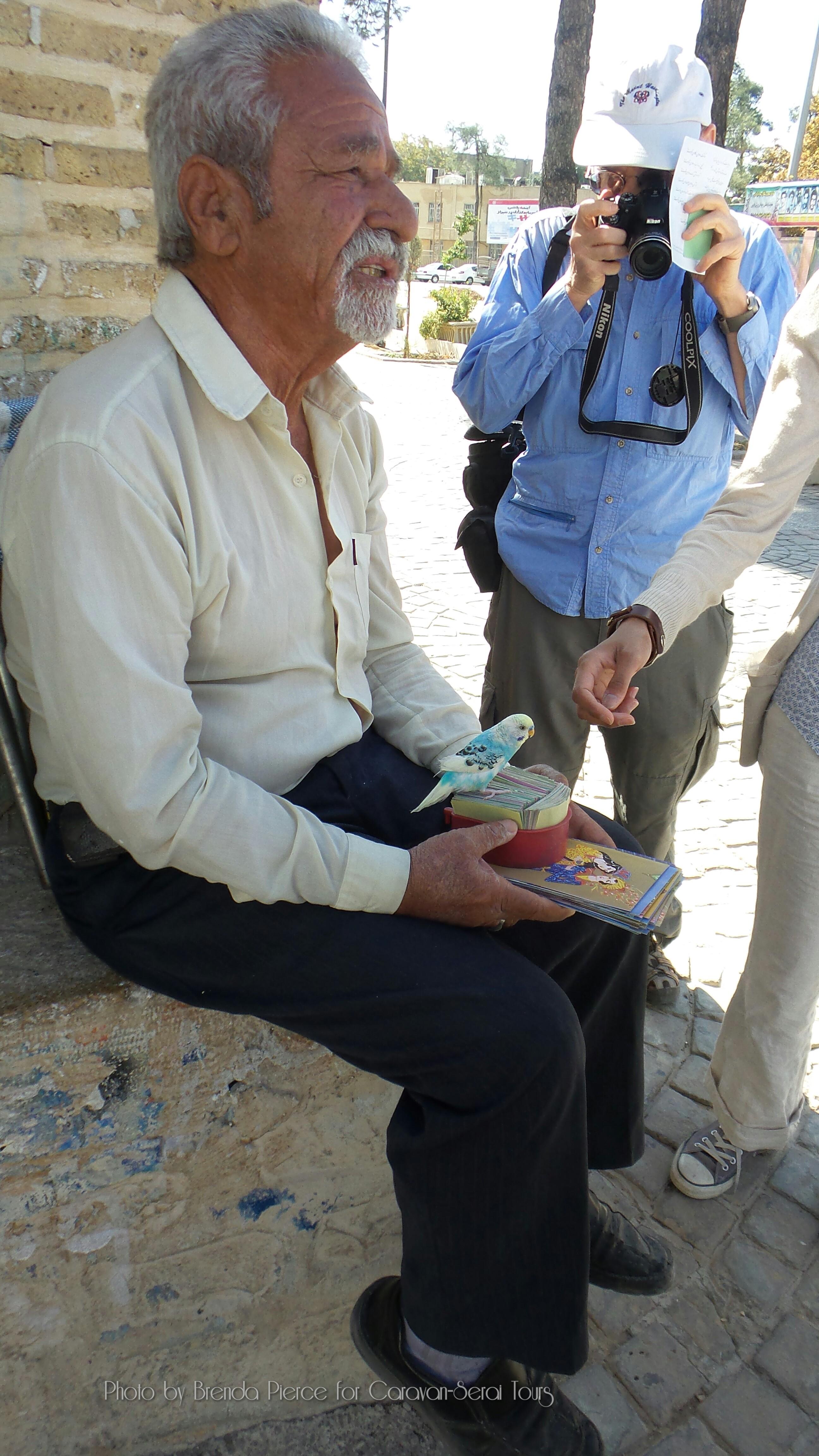 Fortune sellers in Shiraz