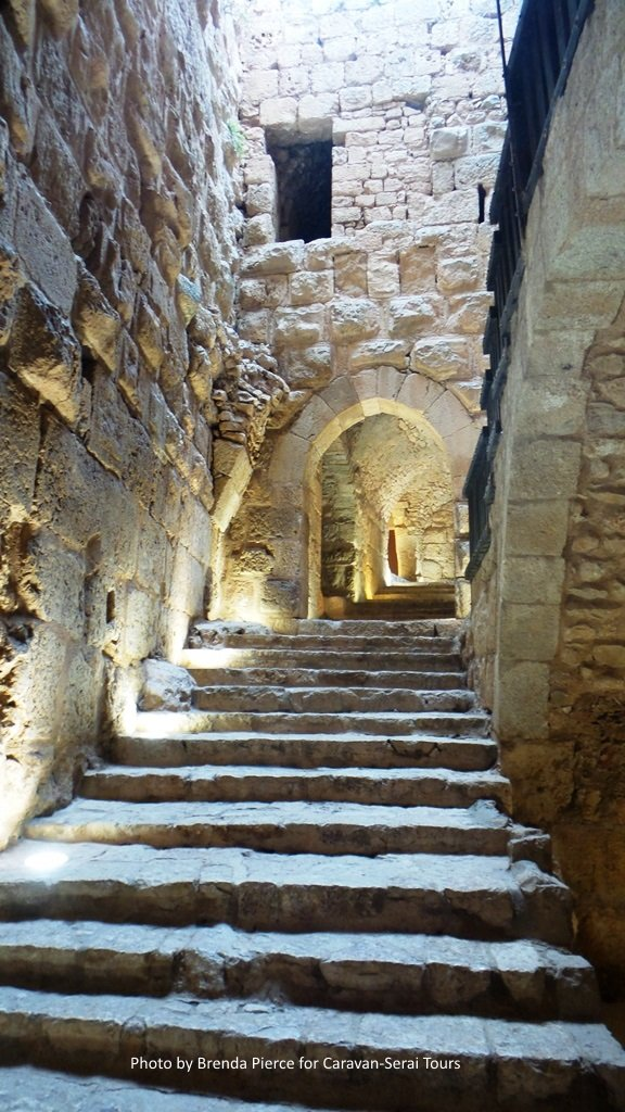 Inside Ajlun Castle