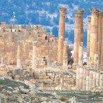Jerash Roman Temples in Jordan