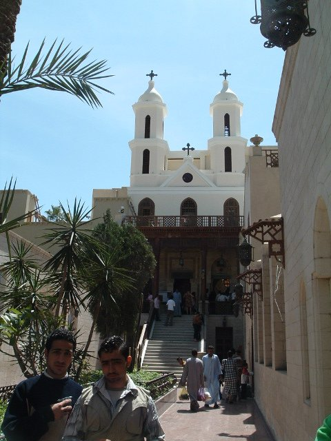 Hanging Church in old Cairo