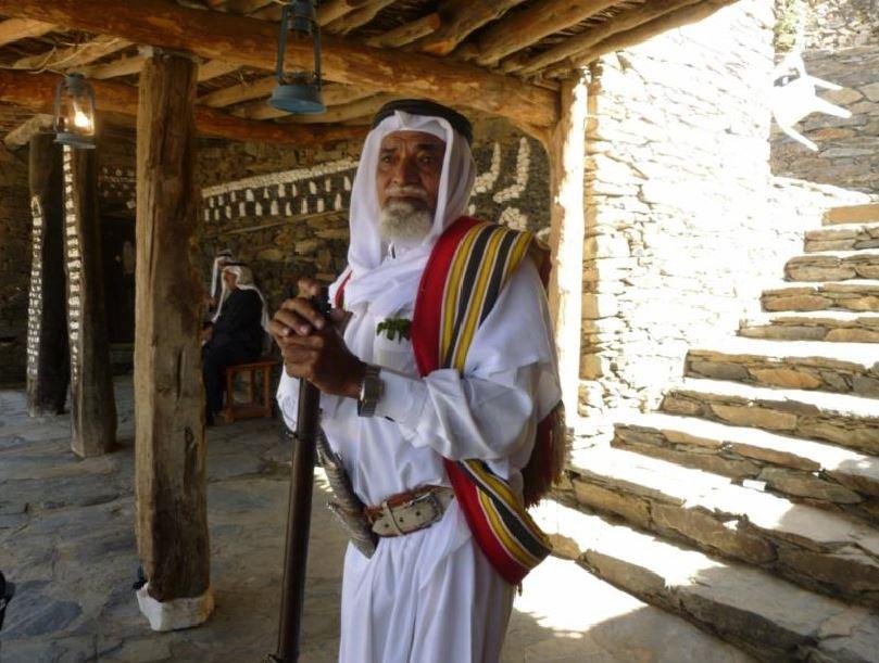 Gentleman in Saudi Arabia